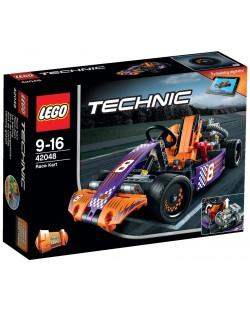 Конструктор Lego Technic - Състезателна картинг кола (42048)