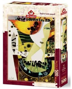 Пъзел Art Puzzle от 500 части - Вятърът, Халук Евитан