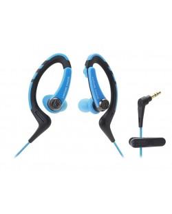 Слушалки Audio-Technica ATH-SPORT1BL - сини