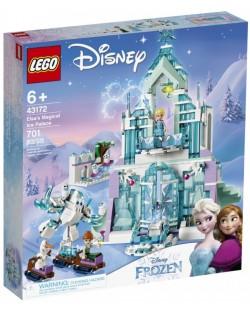 Конструктор Lego Disney Frozen - Магическият леден дворец на Елза (43172)