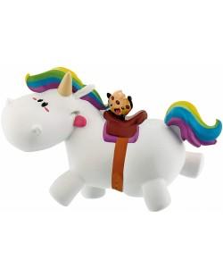 Фигурка Bullyland Chubby Unicorn - Чъби язди