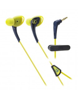 Слушалки Audio-Technica ATH-SPORT2NY - жълти