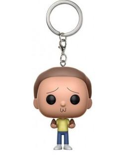 Ключодържател Funko Pocket Pop! Rick and Morty - Morty, 4 cm