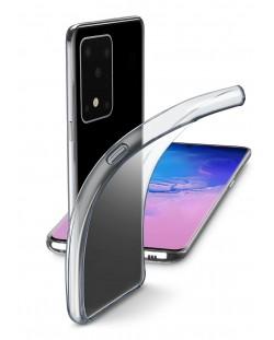 Калъф Cellularline - Fine, за Samsung Galaxy S20 Ultra, прозрачен