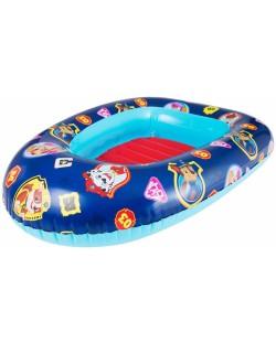 Надуваема детска лодка Paw Patrol - 100 x 70 cm