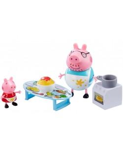Комплект фигурки Peppa Pig - Kухня, с 2 фигурки