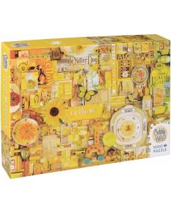 Пъзел Cobble Hill от 1000 части - Жълто, Шели Дейвис