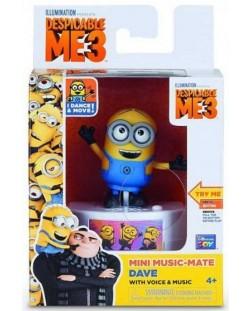 Музикална кутия Minions - Дейв, забавни звуци и гласове