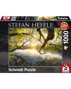 Пъзел Schmidt от 1000 части - Златна прегръдка, Щефан Хефеле