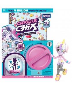 Куклички за сглобяване в капсула Capsule Chix - Ctrl Alt Magic, Серия 1