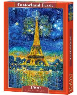 Пъзел Castorland от 1500 части - Празник в Париж