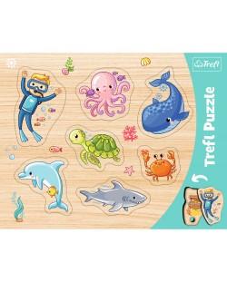 Детски пъзел Trefl - Воден свят