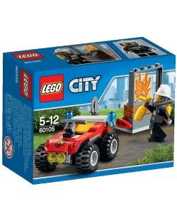 Конструктор Lego City - Пожарникарско АТВ (60105)