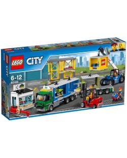 Конструктор Lego City – Товарен терминал (60169)