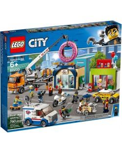 Конструктор Lego City - Donut shop opening (60233)