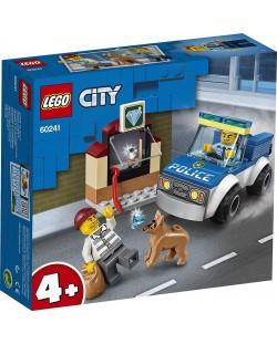 Конструктор Lego City Police - Полицейски отряд с кучета (60241)