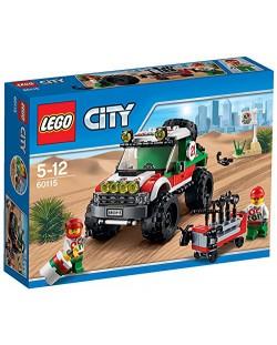 Конструктор Lego City - 4х4 Офф роудър (60115)