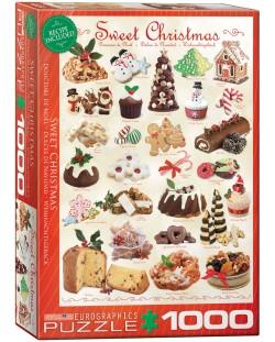 Пъзел Eurographics от 1000 части –  Лакомства за Коледа