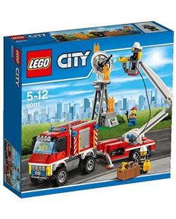 Конструктор Lego City - Пожарникарски камион (60111)