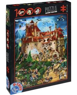 Пъзел D-Toys от 1000 части – Дракула