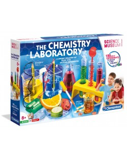 Научен комплект Clementoni Science Museum - Химична лаборатория