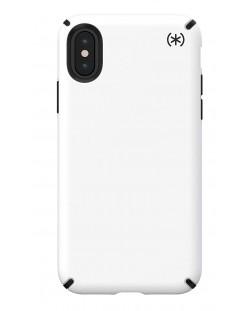 Калъф Speck - Presidio Pro, за iPhone XS, черен/бял
