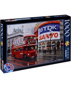 Пъзел D-Toys от 1000 части - Лондон, Обединеното кралство