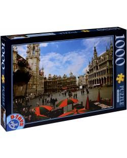 Пъзел D-Toys от 1000 части - Брюксел, Белгия