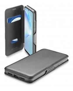 Калъф Cellularline - Book Clutch, за Samsung Galaxy S20+, черен