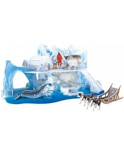 3D Пъзел Cubic Fun от 73 части - Леденият и снежен свят на Арктика
