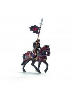 Фигурка Schleich от серията Рицари на Дракона: Рицар на Дракона на кон с пика