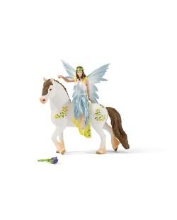 Фигурка Schleich от серията Баяла Илорис: Ейела празнична на кон