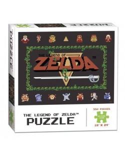 Колекционерски пъзел USAopoly, The Legend of Zelda Classic - 550 части