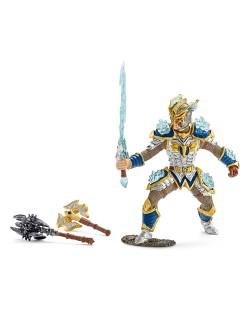 Фигурка Schleich от серията Рицари на Грифона: Рицар на Грифона - герой с оръжия
