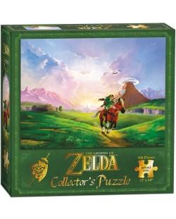 Колекционерски пъзел USAopoly, The Legend of Zelda – Препускащият Линк, 550 части