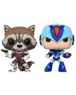 Фигури Funko Pop! Games: Rocket VS Mega Man X, 2 pack