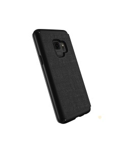 Калъф Speck GALAXY S9 Presidio Folio - Heathered Black/Black/Slate Gray