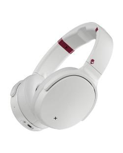 Слушалки с микрофон Skullcandy - Venue Wireless, white/crimson