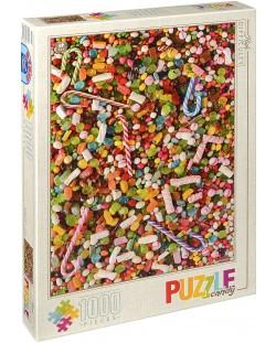 Пъзел D-Toys от 1000 части – Сладкиши