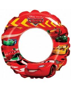 Надуваем пояс Intex - Cars