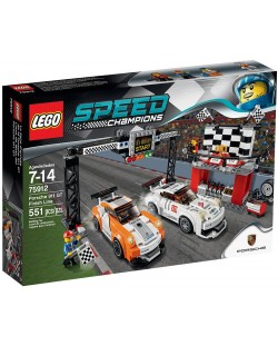 Lego Speed: Porsche 911 GT на финалната линия (75912)