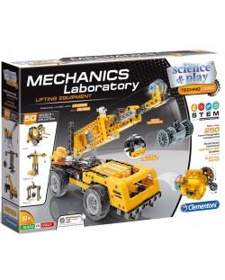 Конструктор Clementoni Mechanics Laboratory - Строителни машини, 250 части