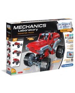 Конструктор Clementoni Mechanics Laboratory - Камион Чудовище, 200 части