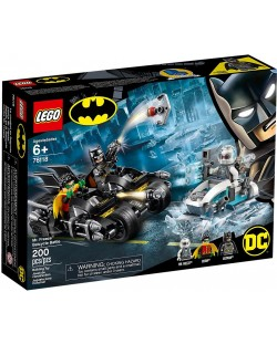 Конструктор Lego DC Super Heroes - Mr. Freeze Batcycle Battle (76118)