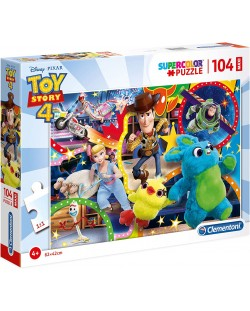 Пъзел Clementoni от 104 макси части - Играта на играчките 4