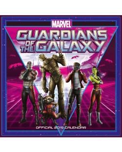 Стенен Календар Danilo 2019 - Guardians of the Galaxy