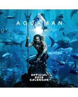 Стенен Календар Danilo 2019 - Justice League: Aquaman
