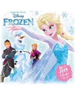 Стенен Календар Danilo 2019 - Disney Frozen Inc