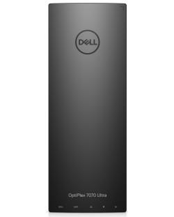 Настолен компютър Dell Optiplex - 7070 UFF, черен