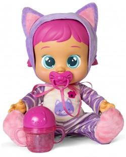 Плачеща кукла със сълзи IMC Toys Cry Babies - Кейти, с шише за вода